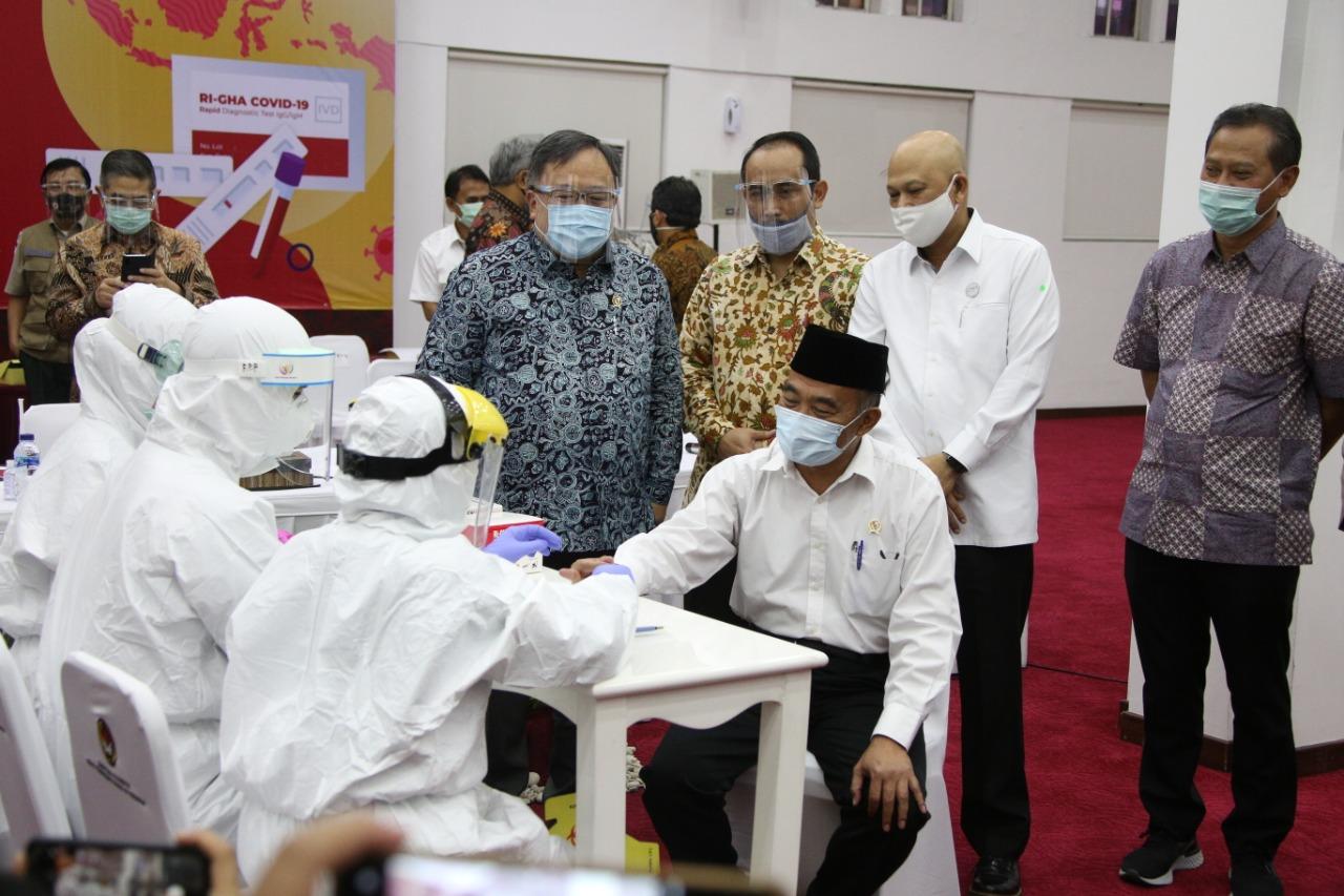 Melindungi Indonesia Dengan Rapid Test Buatan Anak Negeri Kementerian Koordinator Bidang Pembangunan Manusia Dan Kebudayaan